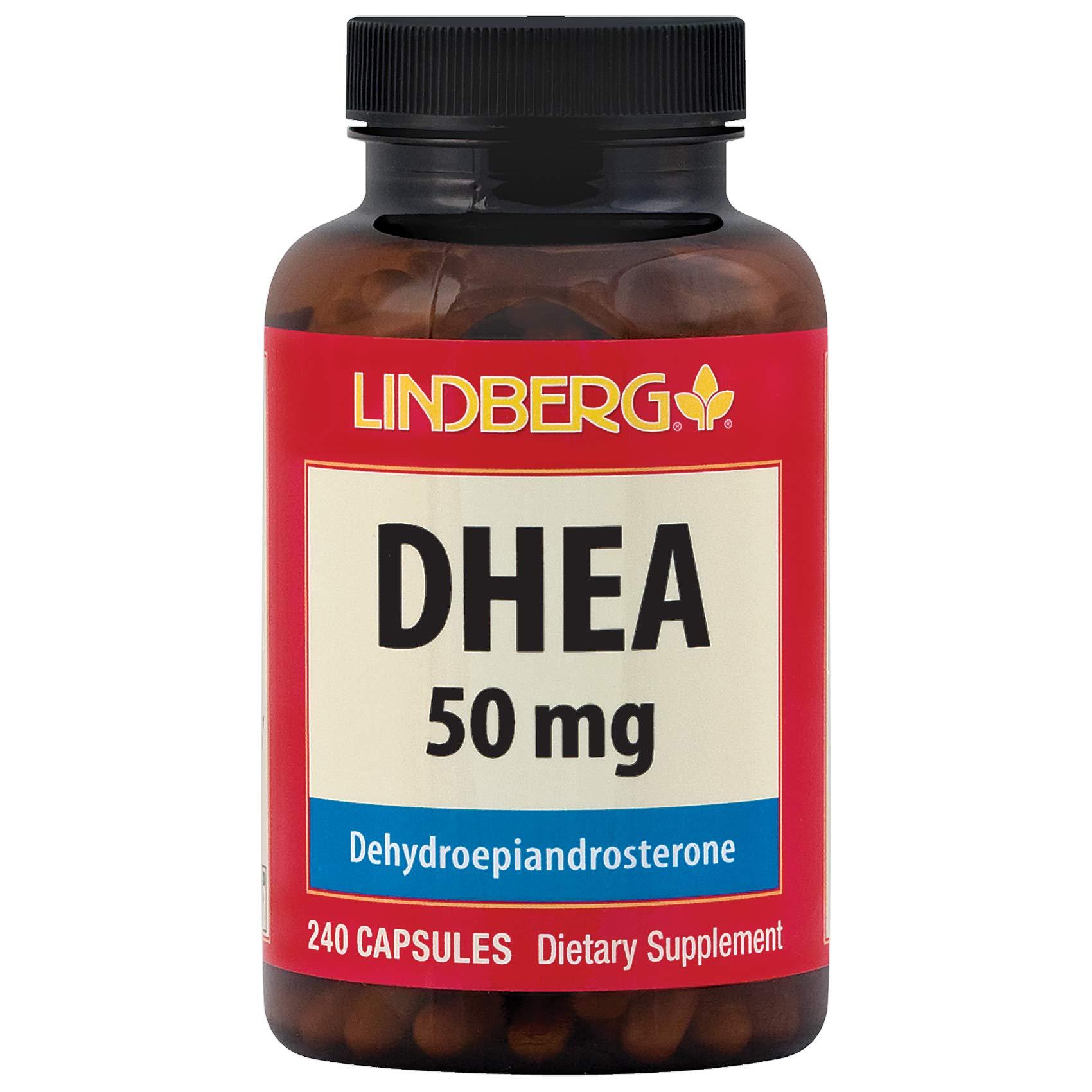 Lindberg DHEA 50 240 Capsules