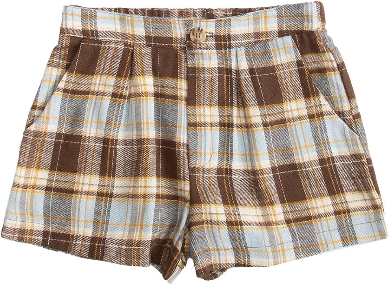 Elegant Full Tilt Louisville-Jefferson County Mall Pleated Shorts Girls Plaid