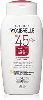 L'Oreal Ombrelle Sunscreen SPF 45 w/ MEXORYL LARGE 8 oz size Blocks UVA & UVB