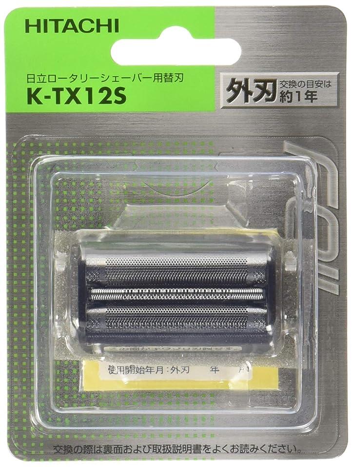飼料スペア毒液日立 替刃 外刃 K-TX12S