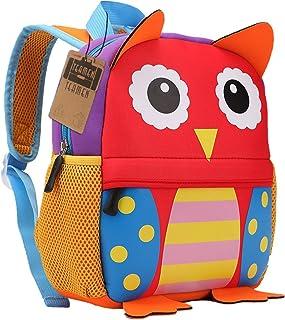 Mochila para niños, Animal Mochila Escolar TEAMEN® Toddler Kids Mochila Escolar para niños pequeños, Mochila para 2-5 años...
