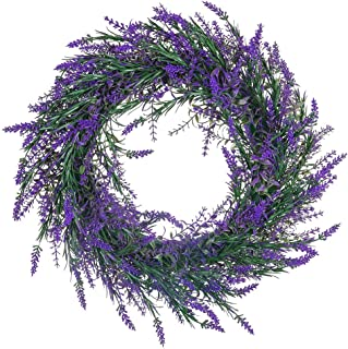 Best fake floral wreaths Reviews