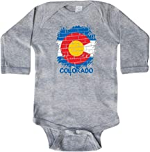 inktastic - Graffiti Colorado State Flag Long Sleeve Creeper