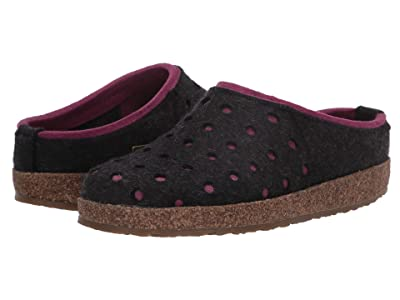 Haflinger Holly (Charcoal/Pink) Women