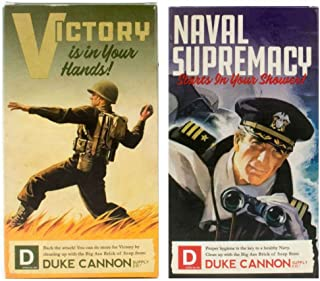 Duke Cannon WWII Edition Big Brick of Soap for Men: Naval Supremacy and Victory, 10 Oz