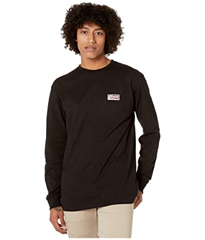 Vans Cross Point Long Sleeve T-Shirt (Black) Men