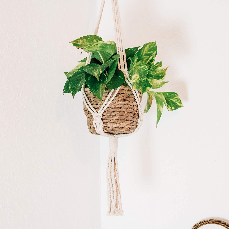 SITOS Max 44% OFF Financial sales sale Handmade Plant Hanger Macrame Hanging Planter Pot Holder