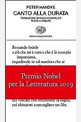 Canto alla durata (Collezione di poesia Vol. 438) Formato Kindle