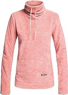 Roxy Women's Snow Flakes Vibes - Funnel Neck Fleece for Women Fleecetop