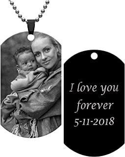 custom picture necklace