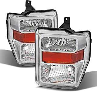 ACANII - For 2008-2010 Ford F250 F350 F450 SD Superduty Headlights Headlamps Driver + Passenger Side 08-10
