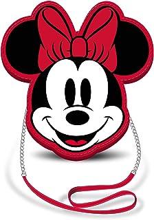 KARACTERMANIA Disney Icons Minni Mouse Borsa Messenger, 19.5 x 2 x 19 cm, Red