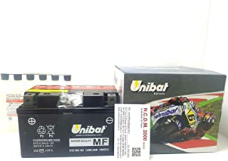 BATTERIA UNIBAT CBTX12-BS AGM MF SUZUKI DL V STROM 650 2004 2005 2006 2007 2008 2009 2010 2011