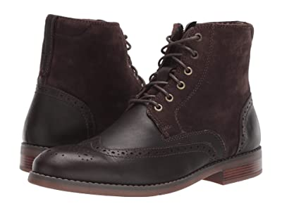Rockport Colden Wing Tip (Dark Bitter Chocolate) Men