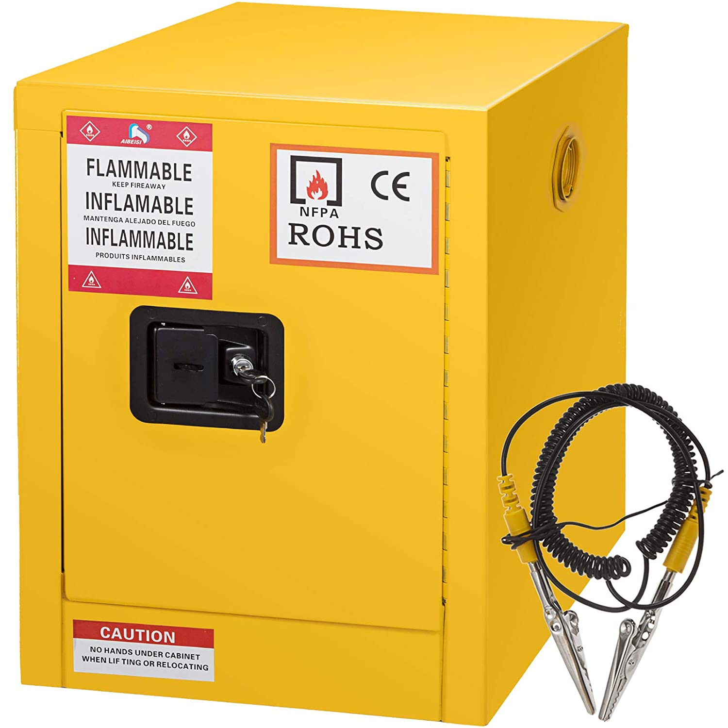 New quality assurance popularity Mophorn Flammable Cabinet 17