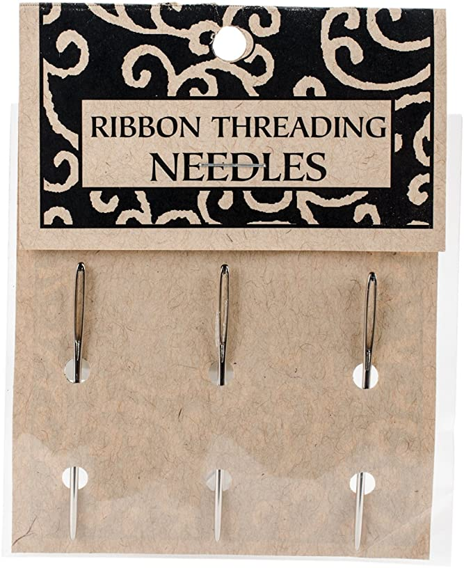 Books By Hand Ribbon Threading Needles