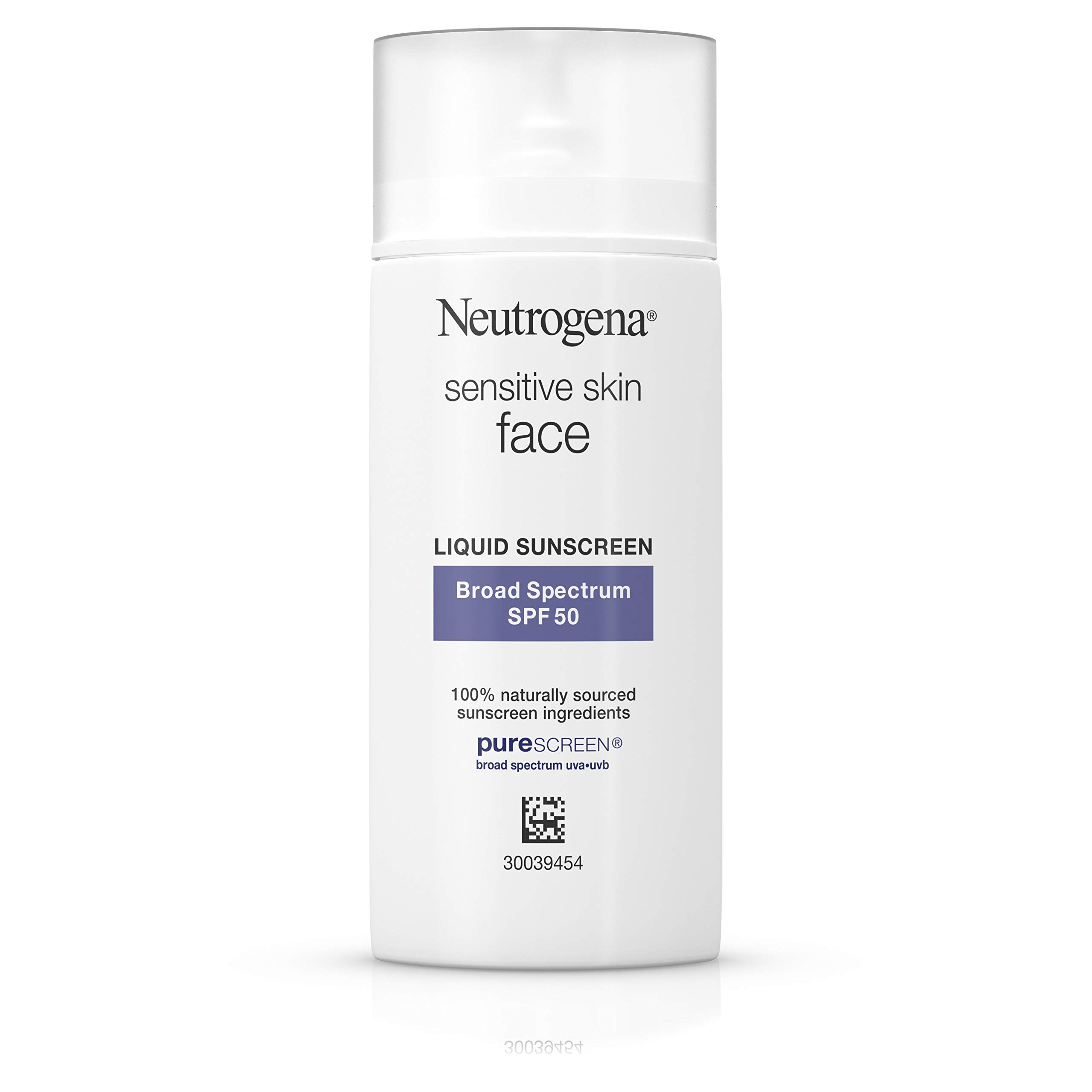 Neutrogena Sunscreen Sensitive Naturally Ingredients