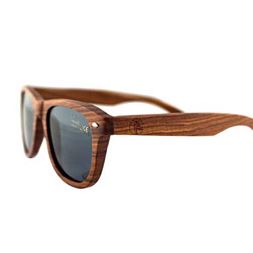 1328d5f6f6 Real Solid Handmade Wooden Sunglasses for Men