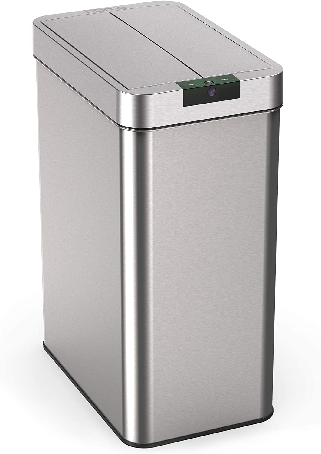 hOmeLabs 13 Gallon Automatic Trash Nippon regular Free shipping / New agency Can S Stainless - for Kitchen