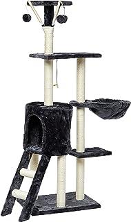 Mumoo Bear 138cm Cat Play Tree/Cat Pole Pet Scratching Post Furniture Home - Blue