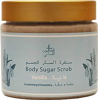 Bayt Al Saboun Al Loubnani Vanilla Body Sugar Scrub, 500 Gm