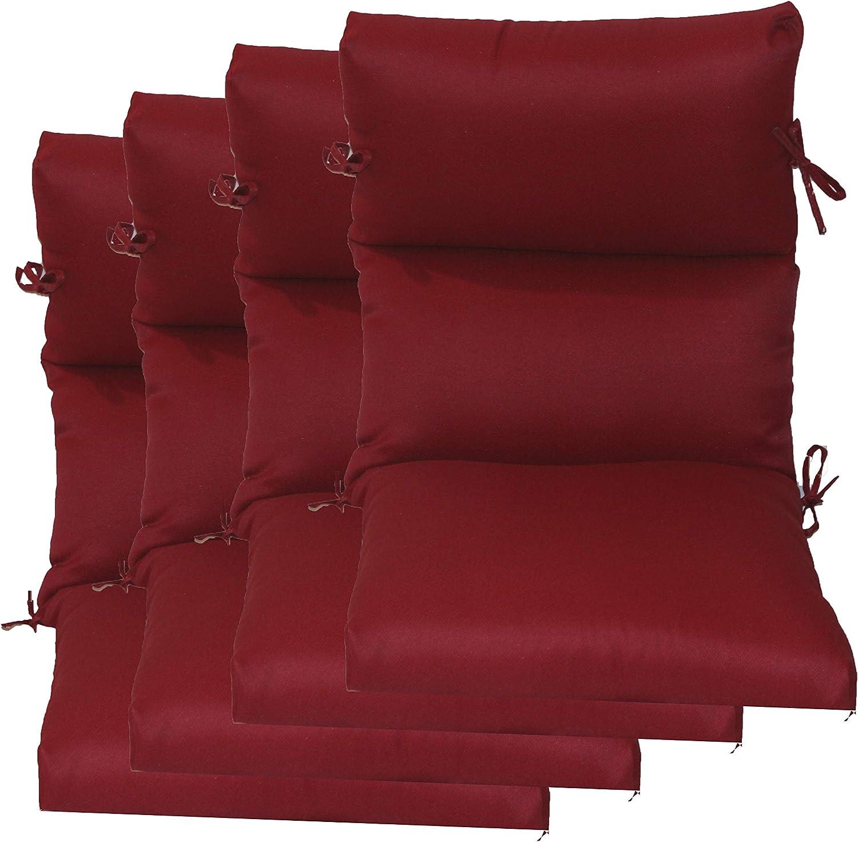 Set Ultra-Cheap Deals of Minneapolis Mall 4 Outdoor Chair Cushion 22