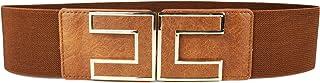 MYB Cintura elastica per donna - fibbia dorata a gancio - altezza 60mm - diversi colori disponibili