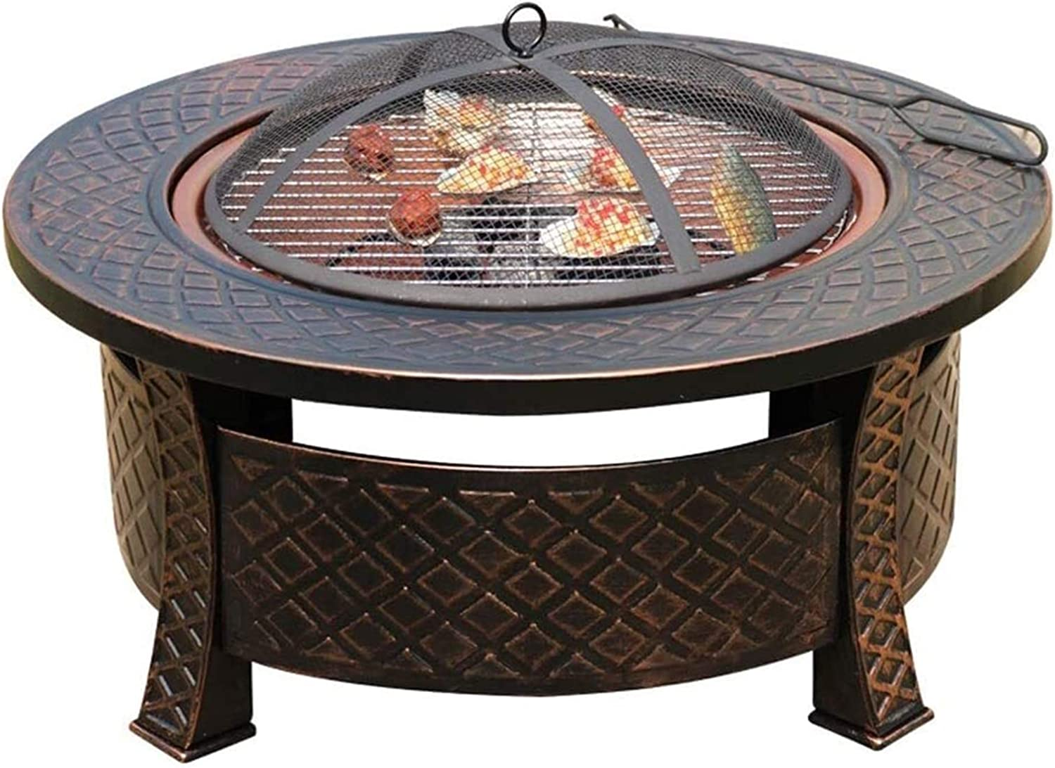 ZSEFV Outdoor San Jose Mall Fire Pits Large special price Sp Pit with Round