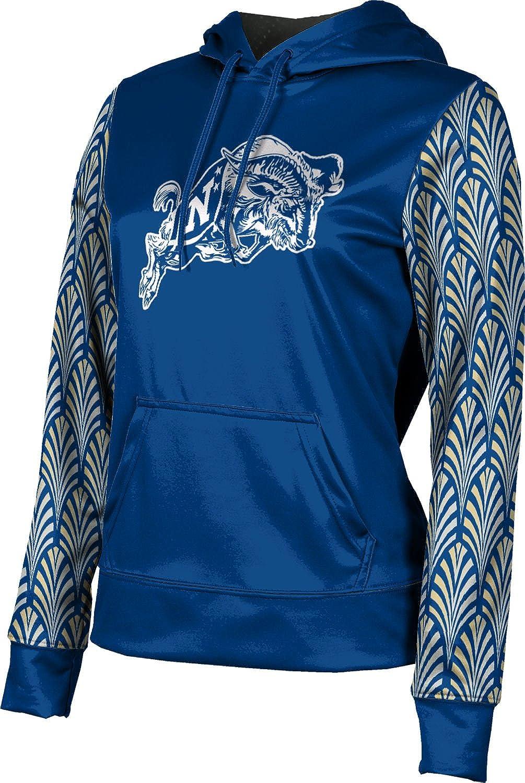 United States Naval Academy Girls' Pullover Hoodie, School Spirit Sweatshirt (Deco)