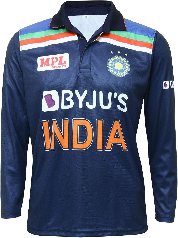 KD India Jersey Cricket Dri Import Fit Sleeve Retro Full T Uniform Half Ranking TOP20