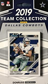 Dallas Cowboys 2019 Donruss Factory Sealed 12 Card Team Set with Dak Prescott, Troy Aikman and Ezekiel Elliott Plus
