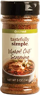 Tastefully Simple Wahoo! Chili Seasoning - The Right Amount of Heat and Spice - Perfect for Beef, Vegetables and Everythin...