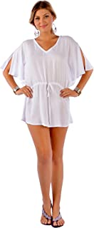 1 World Sarongs Womens Cover-Up Top