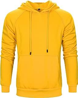 Best mens yellow zip hoodie Reviews
