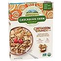 Cascadian Farm Organic Cereal, Cinnamon Crunch, Whole Grain Cereal, 9.2 oz