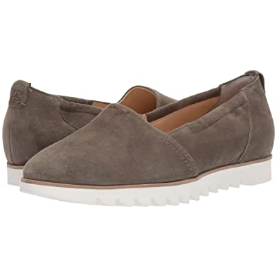 Paul Green Roger Flat (Olive Suede) Women