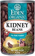 Eden Organic Kidney Beans, No Salt Added, 15-Ounce Cans (Pack of 12)