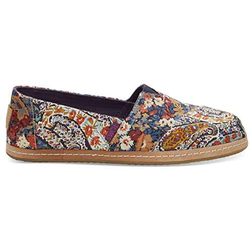 22dc6ffee6c TOMS Women s Classic Flat Liberty Paisley Thorpe On Leather