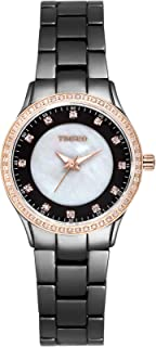 Time100 Women Fashion Diamond High-Tech Precision Ceramic Quartz Watch