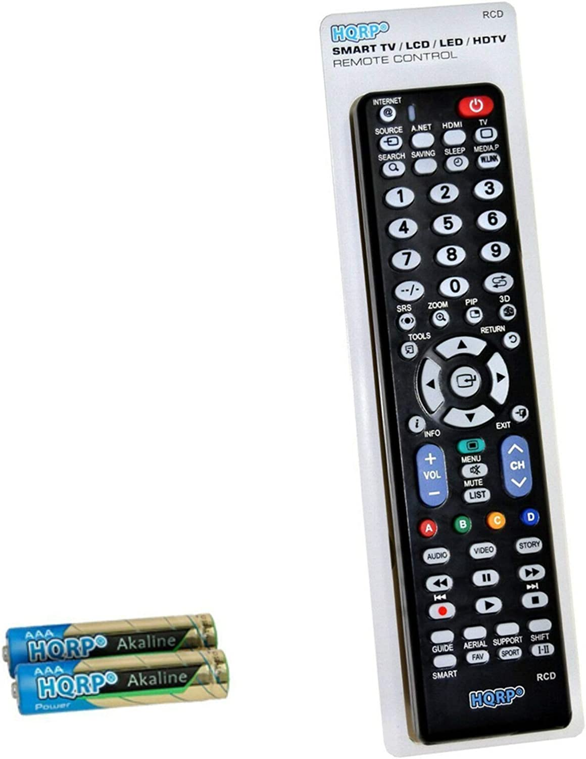 HQRP Remote Control Max 40% Sale price OFF Works with LN26D450G1D Samsung L LN32D430G3D