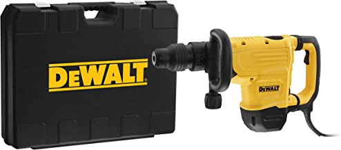DeWalt 7kg Dedicated Chipping and Demolition Hammer with UTC, Yellow/Black, D25872K-B5, 3 Year Warranty