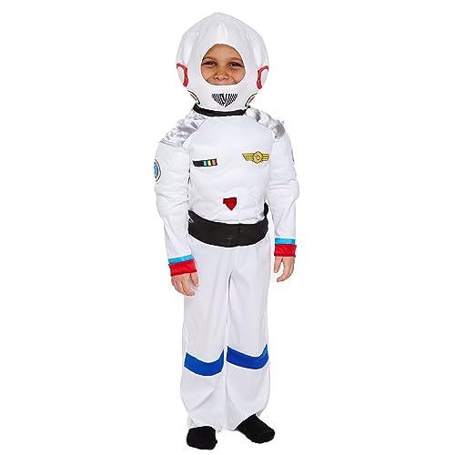 Disfraz Infantil Space Astronauta Mediano 7-9 Años: Amazon.es ...