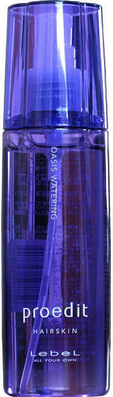 圧縮するトン涙ルベルコスメティックス ルベル プロエディット ヘアスキン オアシスウォータリング 120mL