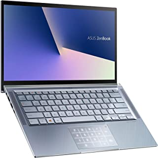 Asus ZenBook 14 UX431FN-AN047T Ultrabook (Utopia Blue) - Intel i5-8265U 3.9 GHz, 8 GB RAM, 512GB SSD, Nvidia Geforce MX150,14 inches FHD, Windows 10, Eng-Arb-KB