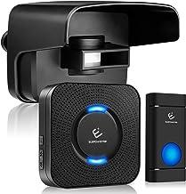 Driveway Alarm System, ELEPOWSTAR Weatherproof Outdoor Motion Sensor Detector Doorbell,..