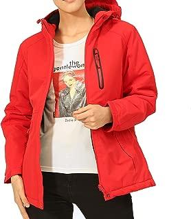 Heated Jackets Winter Snow Skiing Jacket Water Resistant Heat Warm Coat Windproof Lightweight with Hood
