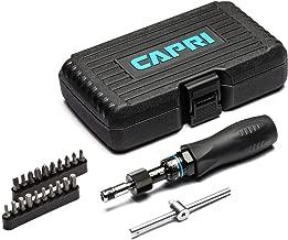 Capri Tools CP21075 Certified Limiting Torque Screwdriver Set, Small, Black