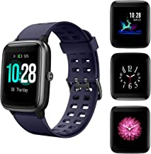 HolyHigh 205L Smart Watch, Fitness Tracker 1.3' Full Touch Screen Fitness Band with Heart Rate Sleep Monitor, Steps Calorie Counter Call SMS Alert Waterproof Activity Tracker for Men Women Kids
