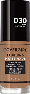 Covergirl TruBlend Matte Made Liquid Foundation, Bronze