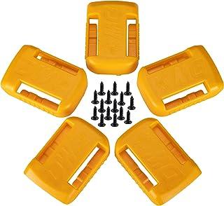 5 PackBattery Holder for Dewalt 20V / 60V Battery MOUNTS/Hanger/Dock Holder Fit for DCB200 DCB203 DCB205 Battery